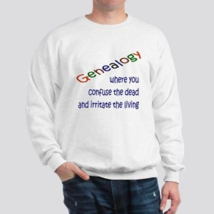 Genealogy Confusion (blue) Sweatshirt
