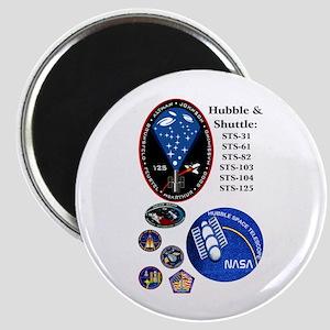 """Hubble Composite 2.25"""" Magnet (10 pack)"""