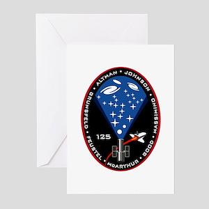 STS 125 Atlantis Greeting Cards (Pk of 10)