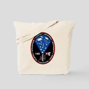 STS 125 Atlantis Tote Bag