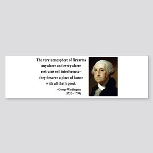 George Washington 13 Bumper Sticker