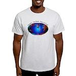 Namaste, Peace on Earth Light T-Shirt