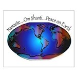 Namaste, Peace on Earth Small Poster