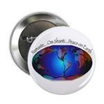 """Namaste, Peace on Earth 2.25"""" Button (100 pac"""