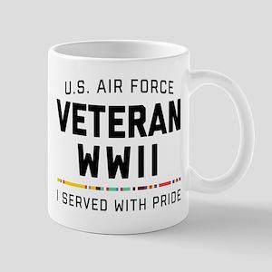 Air Force Veteran WWII Pride 11 oz Ceramic Mug