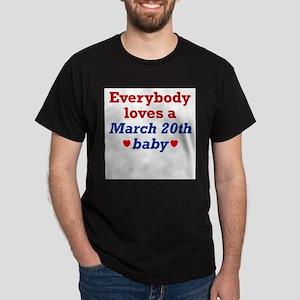 March 20th Ash Grey T-Shirt