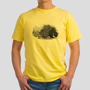 Porcupine Yellow T-Shirt
