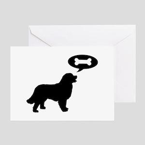 Bernese Mt. Dog Treat Greeting Card