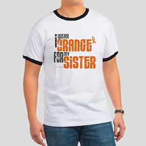 I Wear Orange For My Sister 6 Ringer T
