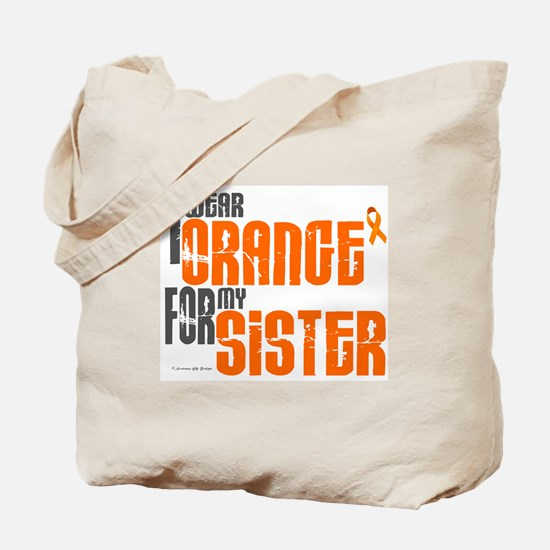 I Wear Orange For My Sister 6 Tote Bag