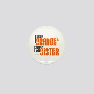 I Wear Orange For My Sister 6 Mini Button