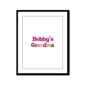 Bobby's Grandma Framed Panel Print