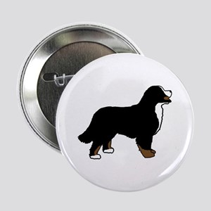 "Tri Color Bernese Dog 2.25"" Button"