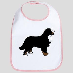 Tri Color Bernese Dog Bib