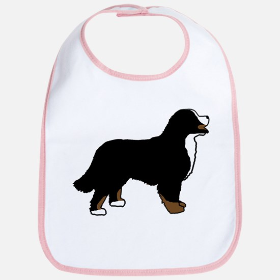 Tri Color Bernese Dog Bib