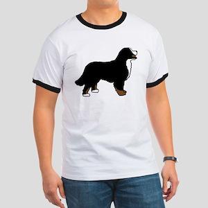 Tri Color Bernese Dog Ringer T