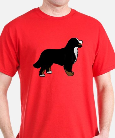 Tri Color Bernese Dog T-Shirt
