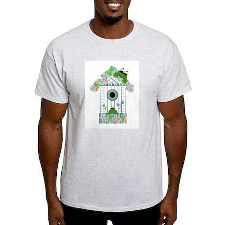 Lilly's Pad Bird House Ash Grey T-Shirt