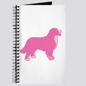 Tri Color Pink Bernese Journal