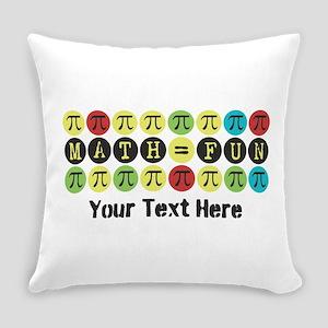 Customize Math = Fun Everyday Pillow