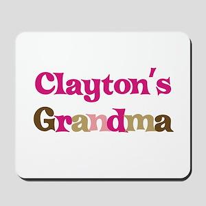Clayton's Grandma Mousepad