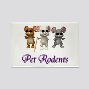 Pet Rodents Rectangle Magnet