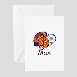 Max Greeting Cards (Pk of 10)