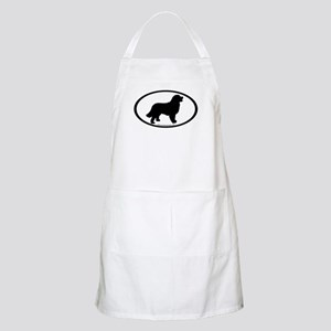 Bernese Mountain Dog Oval BBQ Apron