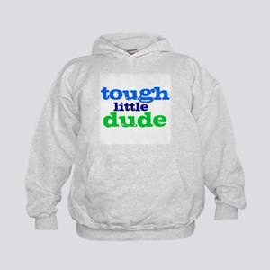 Tough Little Dude Kids Hoodie