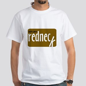 RednecK White T-Shirt