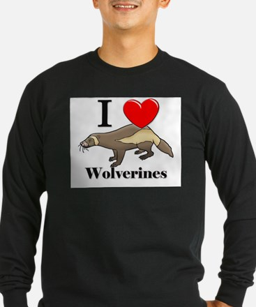 I Love Wolverines T