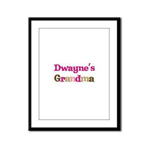 Dwayne's Grandma Framed Panel Print