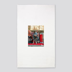 show girl pic copy Area Rug