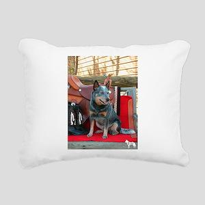 show girl pic copy Rectangular Canvas Pillow