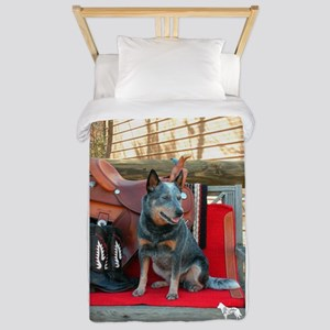 show girl pic copy Twin Duvet Cover
