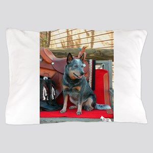 show girl pic copy Pillow Case