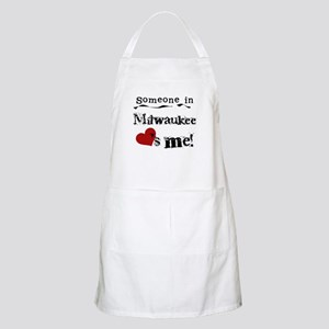 Milwaukee Loves Me BBQ Apron