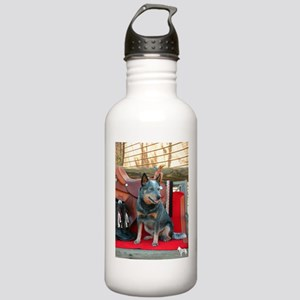 show girl pic copy Water Bottle