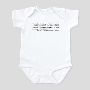 formula experiment Infant Bodysuit