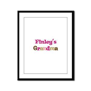 Finley's Grandma Framed Panel Print