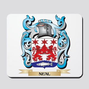 Neal Coat of Arms - Family Crest Mousepad