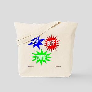 Biff Boff Kapow Tote Bag
