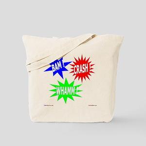 Bam Crash Whamm Tote Bag