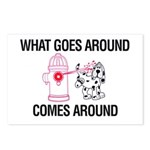 What Goes Around Postcards (Package of 8)