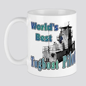 World's Best Tugboat Pilot t Mug