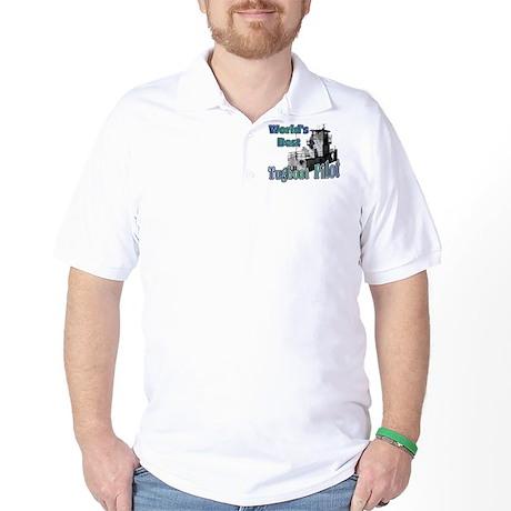World's Best Tugboat Pilot t Golf Shirt