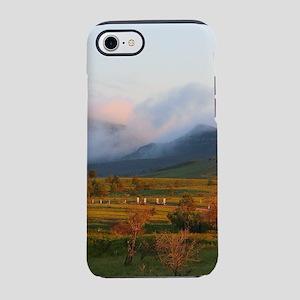 Morning mist, Wilpena Pound iPhone 8/7 Tough Case
