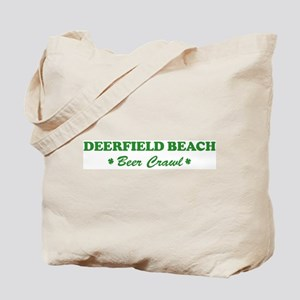 DEERFIELD BEACH beer crawl Tote Bag