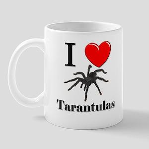 I Love Tarantulas Mug