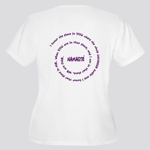 Namaste and its Meaning in Sacred Purple Women's P